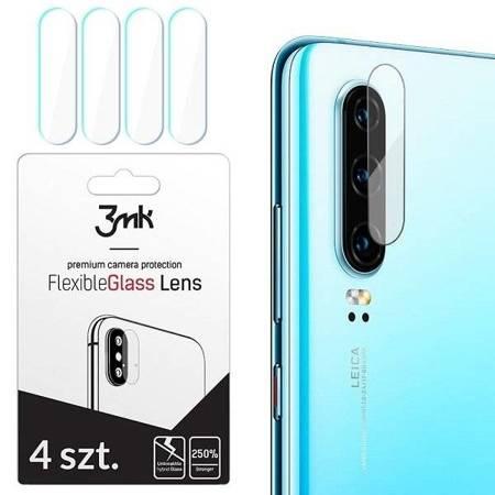 3MK FlexibleGlass Lens iPhone Xs Max Szkło hybrydowe na obiektyw aparatu 4szt