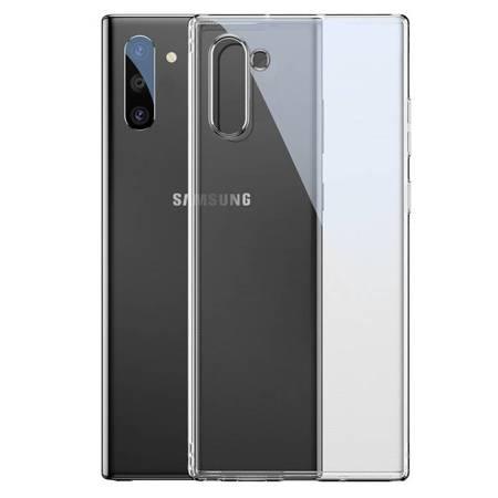 Baseus Simple Series Case przezroczyste żelowe etui Samsung Galaxy Note 10 przezroczysty (ARSANOTE10-02)