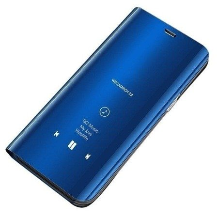 Clear View Case futerał etui z klapką Huawei P Smart Z niebieski