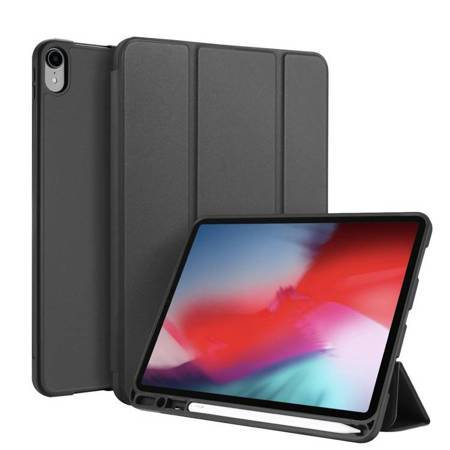 DUX DUCIS Osom żelowe etui na tablet Smart Sleep z podstawką iPad Pro 11'' 2018 czarny