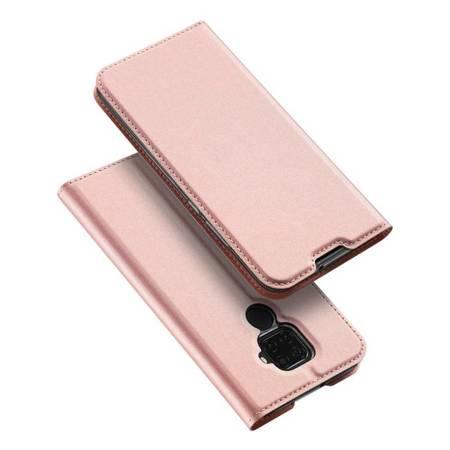 DUX DUCIS Skin Pro kabura etui pokrowiec z klapką Huawei Mate 30 Lite różowy