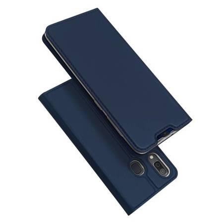 DUX DUCIS Skin Pro kabura etui pokrowiec z klapką Samsung Galaxy A20e niebieski