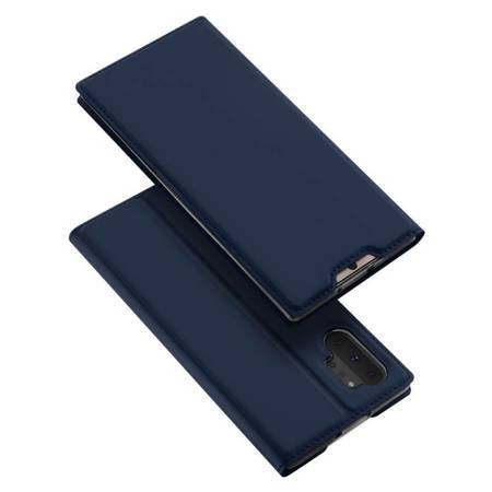 DUX DUCIS Skin Pro kabura etui pokrowiec z klapką Samsung Galaxy Note 10 Plus niebieski