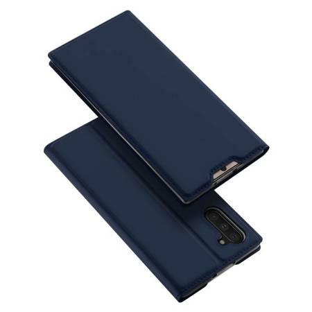 DUX DUCIS Skin Pro kabura etui pokrowiec z klapką Samsung Galaxy Note 10 niebieski