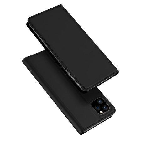 DUX DUCIS Skin Pro kabura etui pokrowiec z klapką iPhone 11 Pro Max czarny
