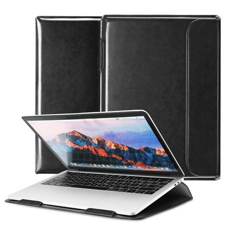 Dux Ducis HEFI 2w1 torba etui podstawka na MacBook 15,4'' czarny
