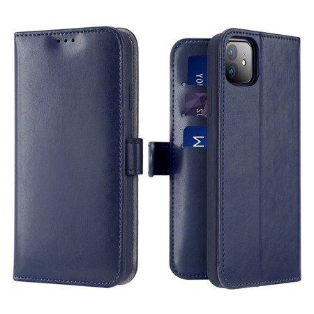 Dux Ducis Kado kabura etui portfel pokrowiec z klapką iPhone 11 niebieski