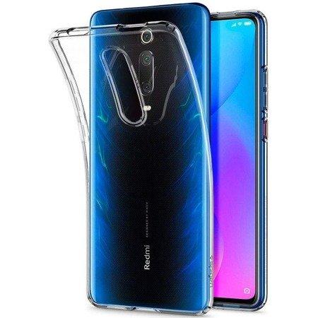 Etui Spigen Liquid Crystal Xiaomi Mi 9t/Mi 9t Pro Crystal Clear