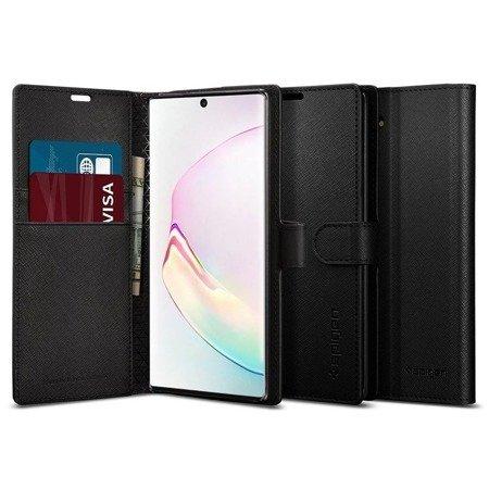 Etui Spigen Wallet S Galaxy Note 10 Black