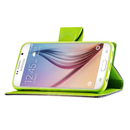 Kabura pokrowiec Fancy Series Huawei P8 Lite czerwony