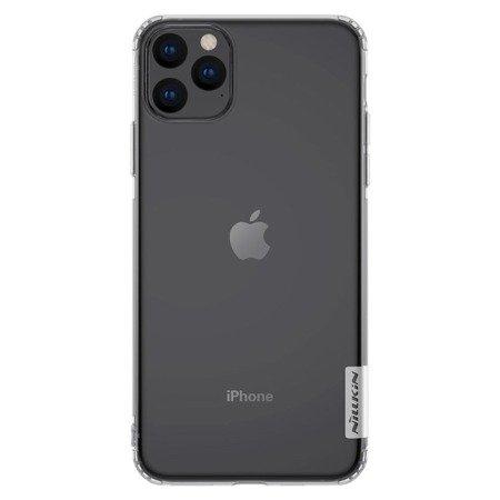 Nillkin Nature żelowe etui pokrowiec ultra slim iPhone 11 Pro przezroczysty