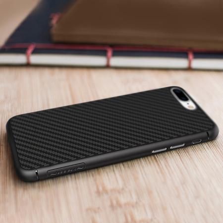 Nillkin etui Synthetic Fiber Carbon iPhone 8 Plus / 7 Plus czarne