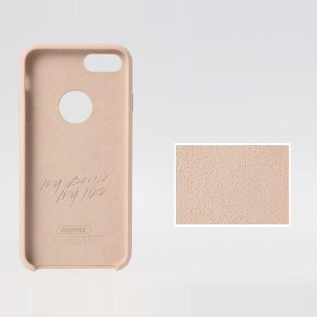 REMAX żelowe etui Kellen Series iPhone 7 niebieskie