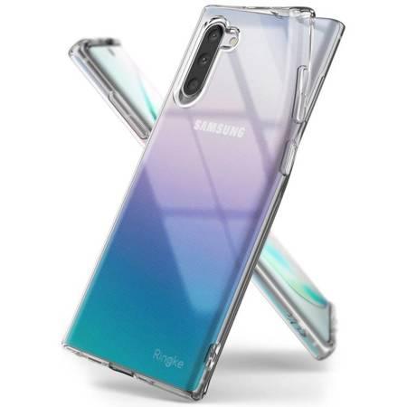 Ringke Air ultracienkie żelowe etui pokrowiec Samsung Galaxy Note 10 przezroczysty (ARSG0021)