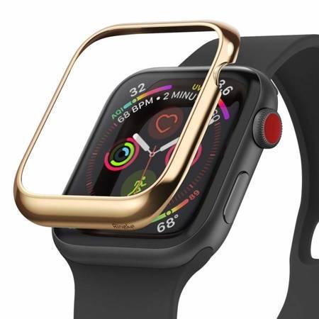 Ringke Bezel Styling etui ramka koperta pierścień Apple Watch 44 mm złoty (RGAP0011)