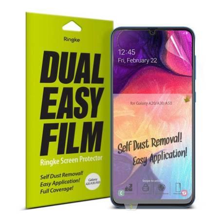 Ringke Dual Easy Film 2x łatwa w przyklejeniu folia Samsung Galaxy A50 / A30 / A20 (ESSG0012)