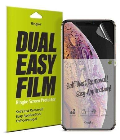 Ringke Dual Easy Film 2x łatwa w przyklejeniu folia iPhone 11 / iPhone XR (ESAP0002)
