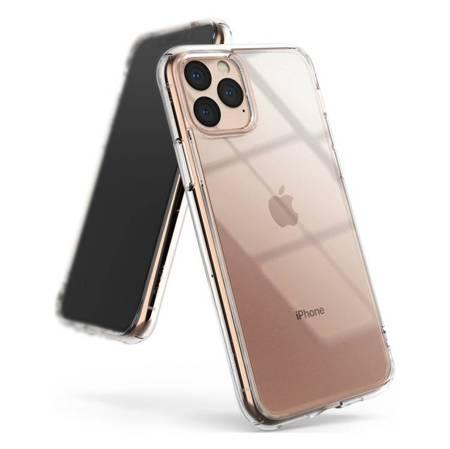 Ringke Fusion etui pokrowiec z żelową ramką iPhone 11 Pro przezroczysty (FSAP0038)