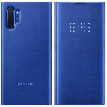 Samsung LED View Cover etui pokrowiec z wyświetlaczem LED Samsung Galaxy Note 10 Plus niebieski (EF-NN975PLEGWW)