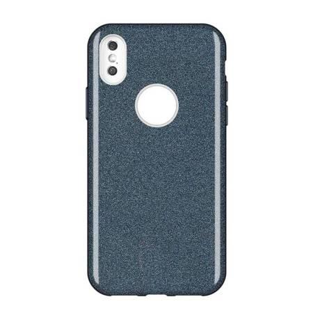 Wozinsky Glitter Case błyszczące etui pokrowiec z brokatem Huawei Mate 30 Lite czarny