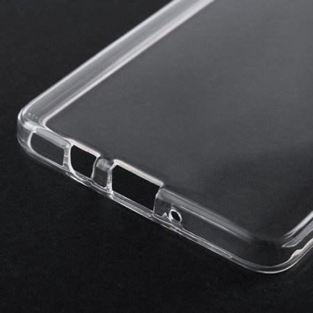 Żelowy pokrowiec etui Clear Gel 1.0mm Sony Xperia L1 G3311 G3313 przezroczyste