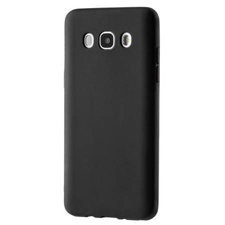 Żelowy pokrowiec etui Soft Matt Samsung Galaxy J7 2016 J710 czarny