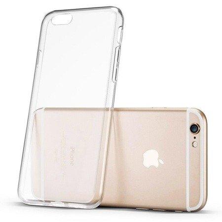 Żelowy pokrowiec etui Ultra Clear 0.5mm iPhone 11 Pro przezroczysty
